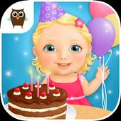 Sweet Baby Girl - Birthday icon
