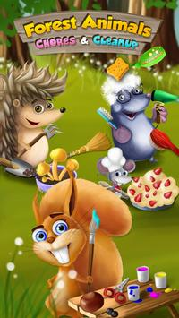 Forest Animals Arts and Crafts poster