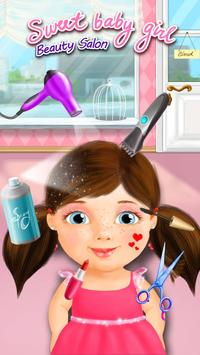 Sweet Baby Girl Beauty Salon poster