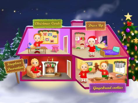Sweet Baby Girl Christmas Town apk screenshot