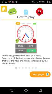 What time is it? [U-Kids] apk screenshot