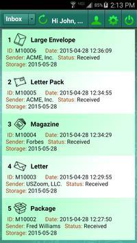 iWorkSpaceMail apk screenshot