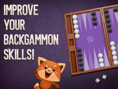 Viber Backgammon poster