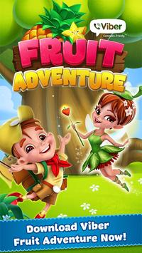 Viber Fruit Adventure पोस्टर