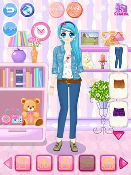 Claire DressUp apk screenshot