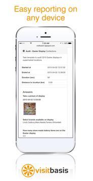 VisitBasis | Retail Audit and Merchandising app apk screenshot