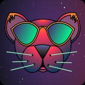 Emojis in Space - Retro Game icon