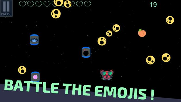 Emojis in Space - Retro Game apk screenshot
