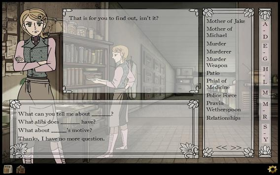 Stride Files The Square Murder apk screenshot