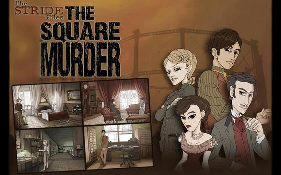 Stride Files The Square Murder poster