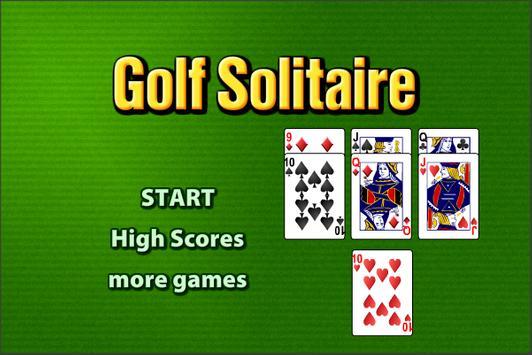 Golf Solitaire apk screenshot
