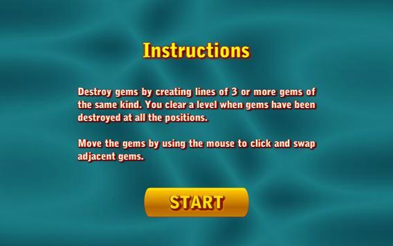 Gems Swap II screenshot 1