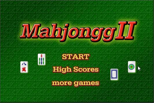 Mahjongg II apk screenshot