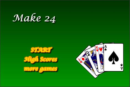 Make 24 apk screenshot