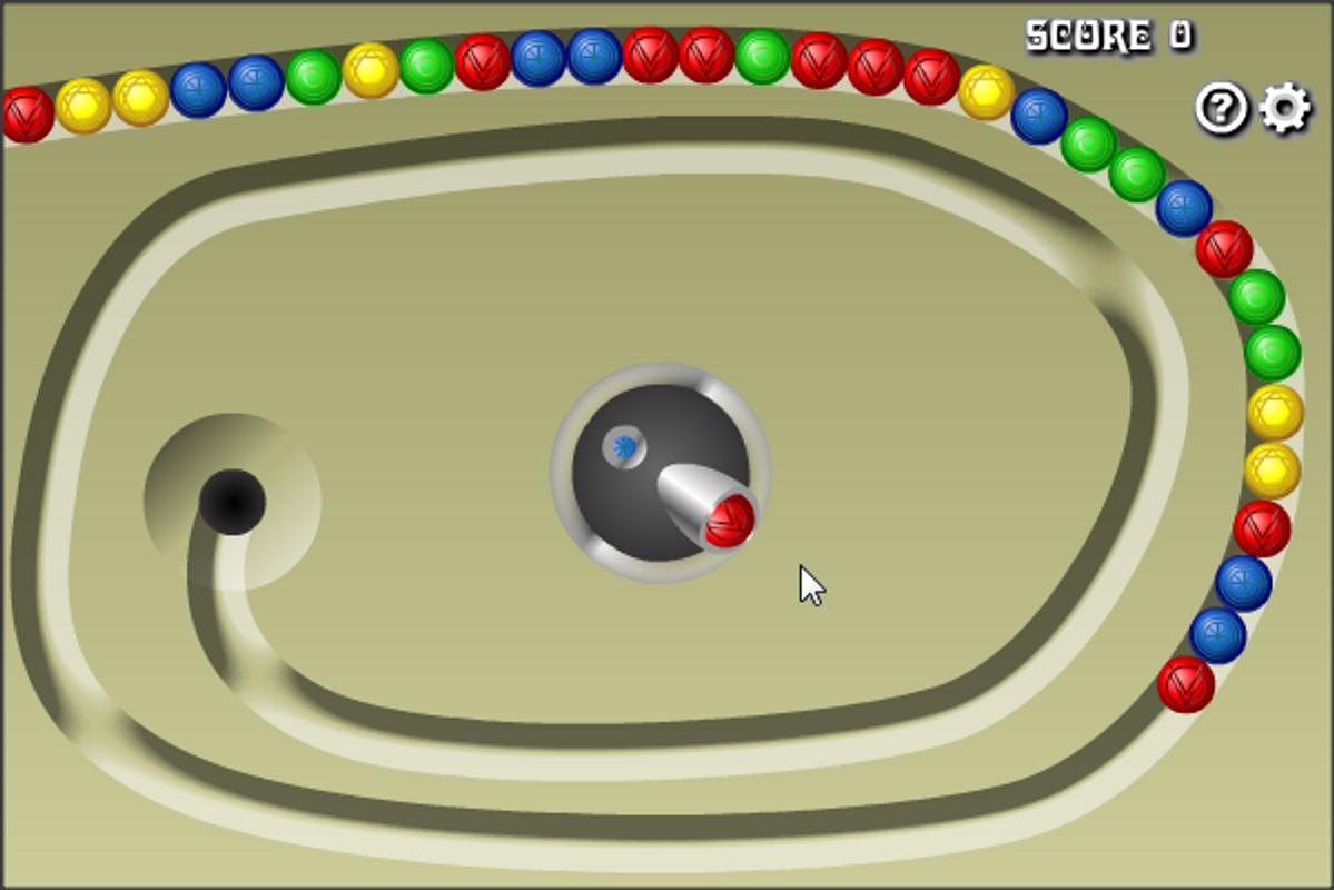 Marble lines free game screenshots.