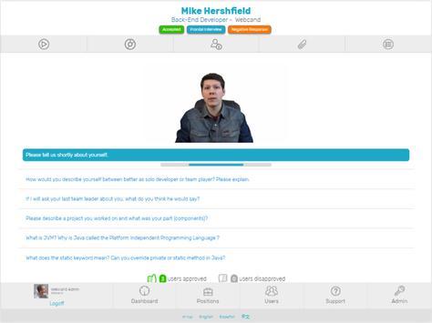 Webcand apk screenshot