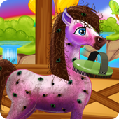 Baby Pony Caring icon