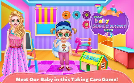 Crazy Baby Super Nanny Help poster