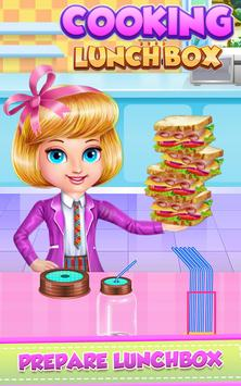 Lunch Box Cooking and Decoration poster