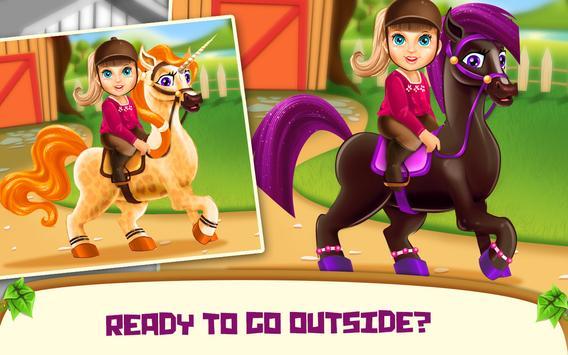 Little Girl Pony Caring apk screenshot