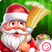 Santa Cleaning Room icon