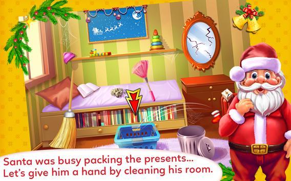 Santa Cleaning Room apk screenshot