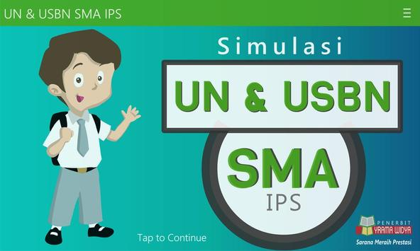 UN & USBN SMA/MA IPS poster