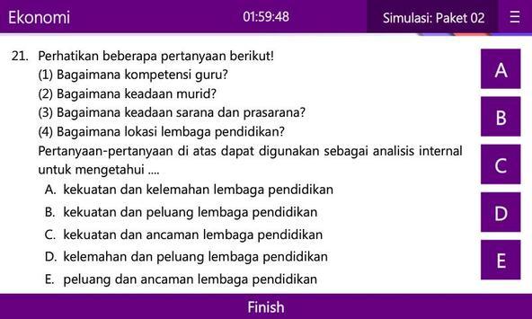 UN & USBN Ekonomi SMA/MA apk screenshot