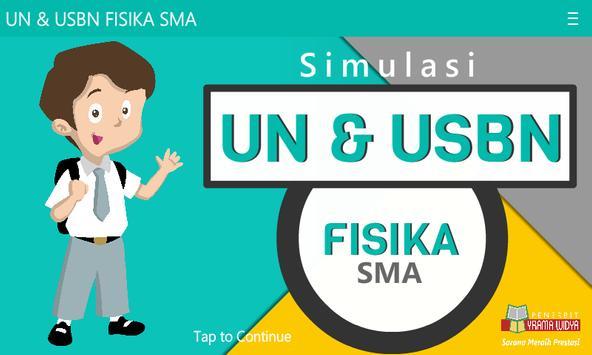 UN & USBN Fisika SMA/MA poster