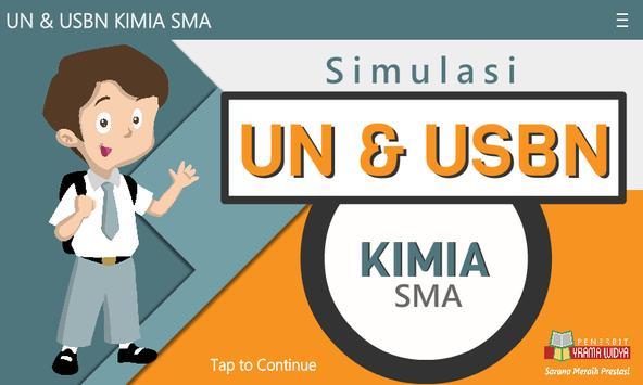 UN & USBN Kimia SMA/MA poster