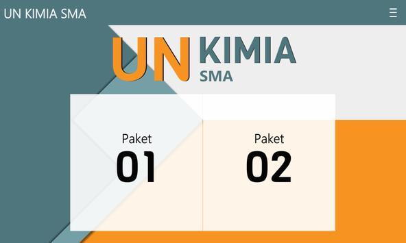 UN & USBN Kimia SMA/MA apk screenshot