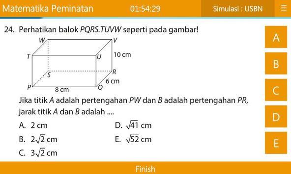 USBN & UN Matematika IPA SMA/MA apk screenshot