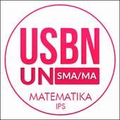 USBN & UN Matematika IPS SMA/MA icon