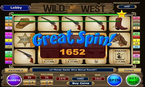 Wild West Slots apk screenshot