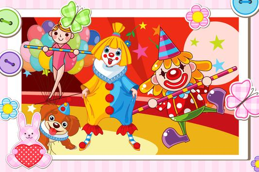 Circus Differences Game apk screenshot