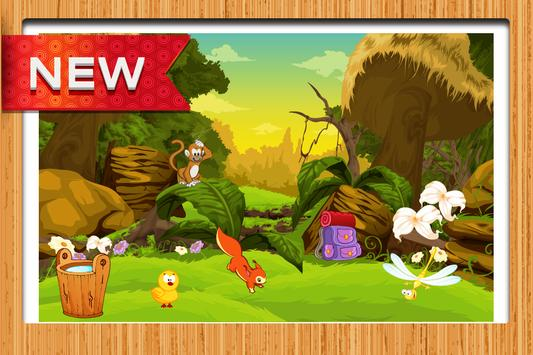 Farm Animals Differences Game poster
