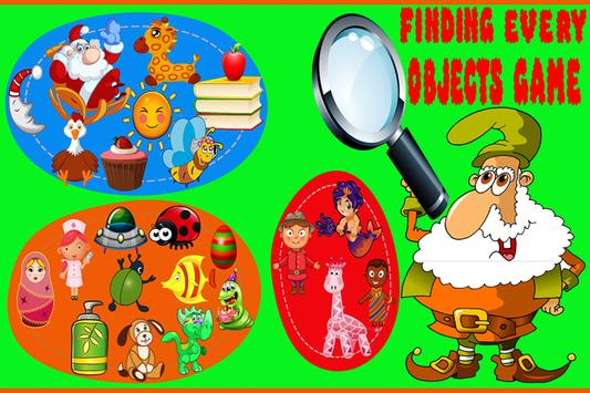 Finding Every Objects Game poster