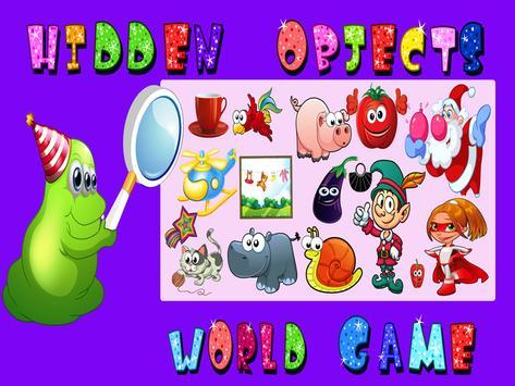 Hidden Objects World Game apk screenshot