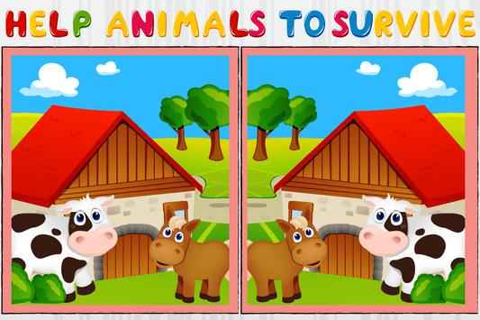 Nature and Animals Differences poster