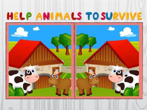 Nature and Animals Differences apk screenshot