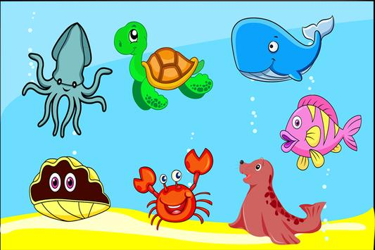 Ocean Animals Puzzle Game apk screenshot