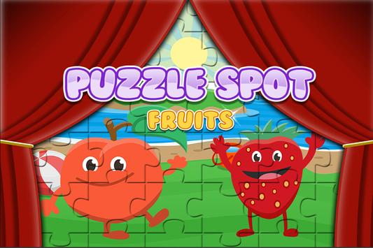 Fruit Jigsaw for Toddlers poster
