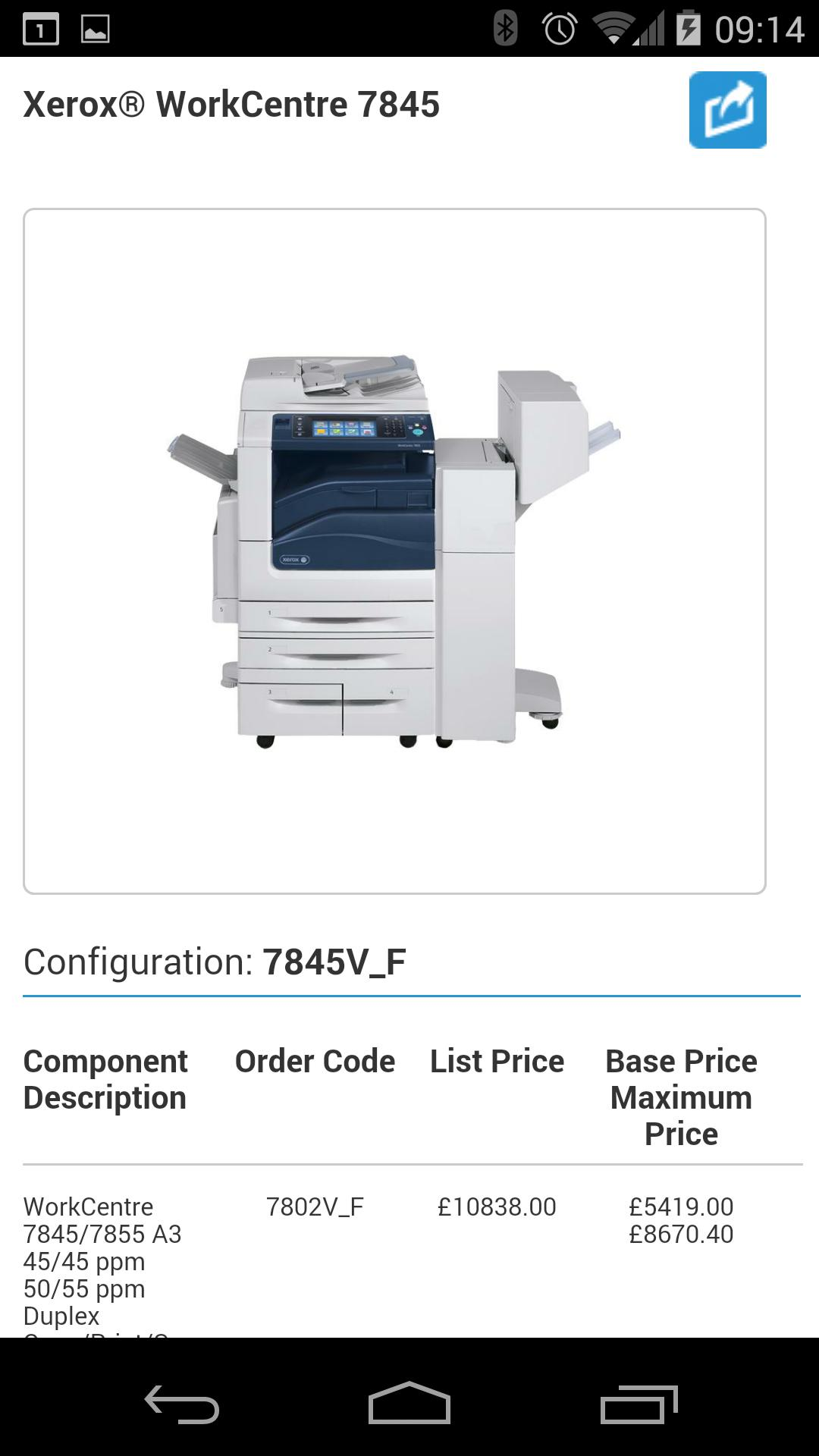 Xerox Product Configurator for Android - APK Download