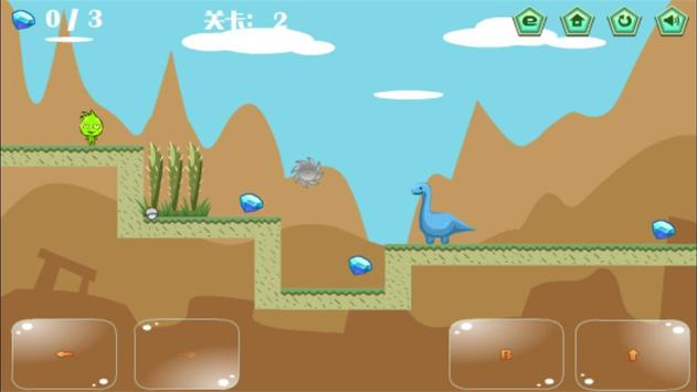 Elf VS Dinosaurs screenshot 2
