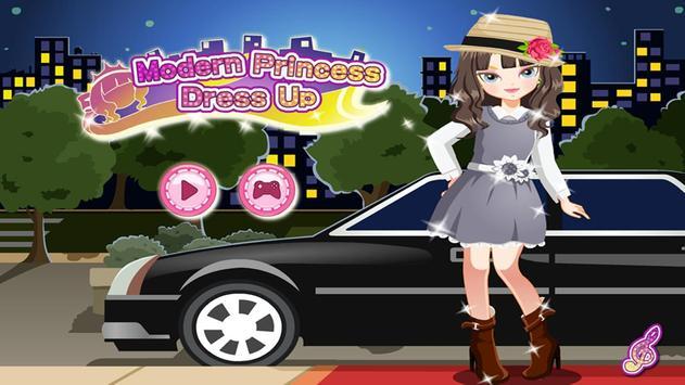 Modern Princess Dress Up poster