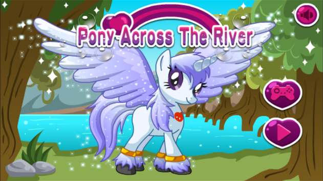 Pony Across River,Pony physics game screenshot 5