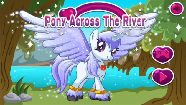 Pony Across River,Pony physics game screenshot 5