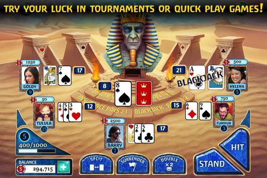 Luxor Blackjack poster