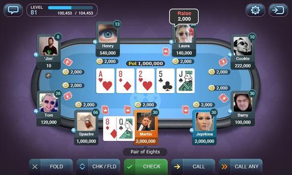 Texas Hold'em Poker by Yazino poster
