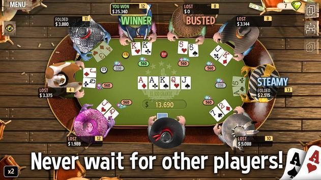 Governor of Poker 2 screenshot 1
